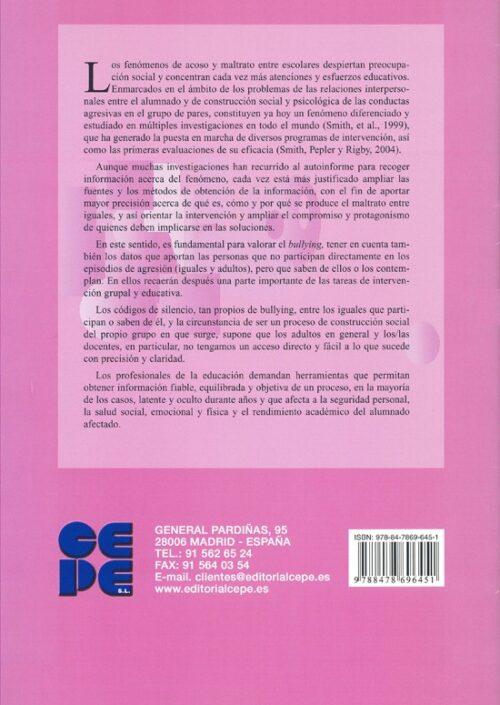 INSEBULL. Instrumentos para la evaluación del bullying