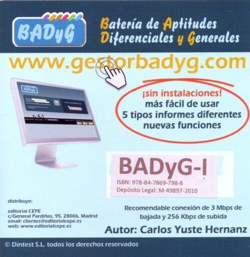 BADyG i. Licencia On Line con 60 usos