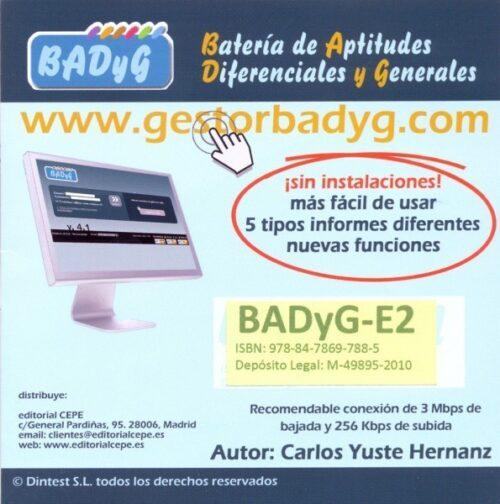 BADyG E2. Licencia On Line con 60 usos