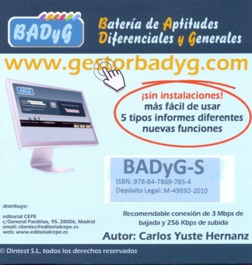 BADyG S. Licencia On Line con 60 usos