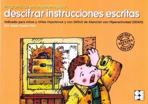 Programa de entrenamiento para descifrar instrucciones escritas