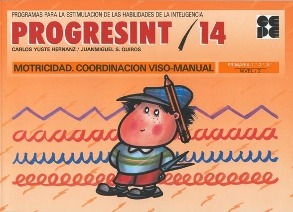 PROGRESINT 14. Motricidad, Coordinación Visomanual