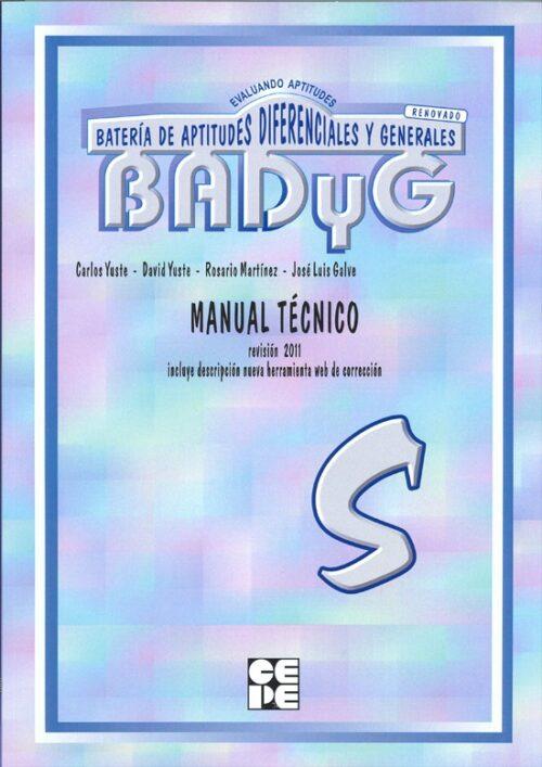 BADyG S. Manual Técnico