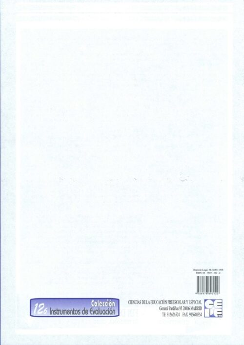 INVE S. Hoja de Fluidez Lectora (25 unidades)