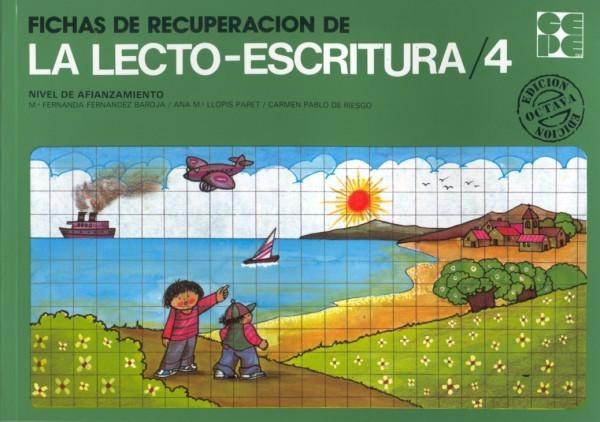 Fichas de Recuperación de la Lectoescritura 4