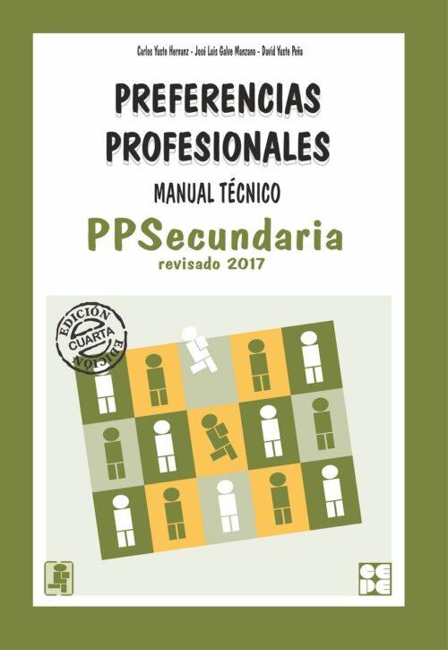 Preferencias Profesionales Secundaria - PPS. Manual Técnico
