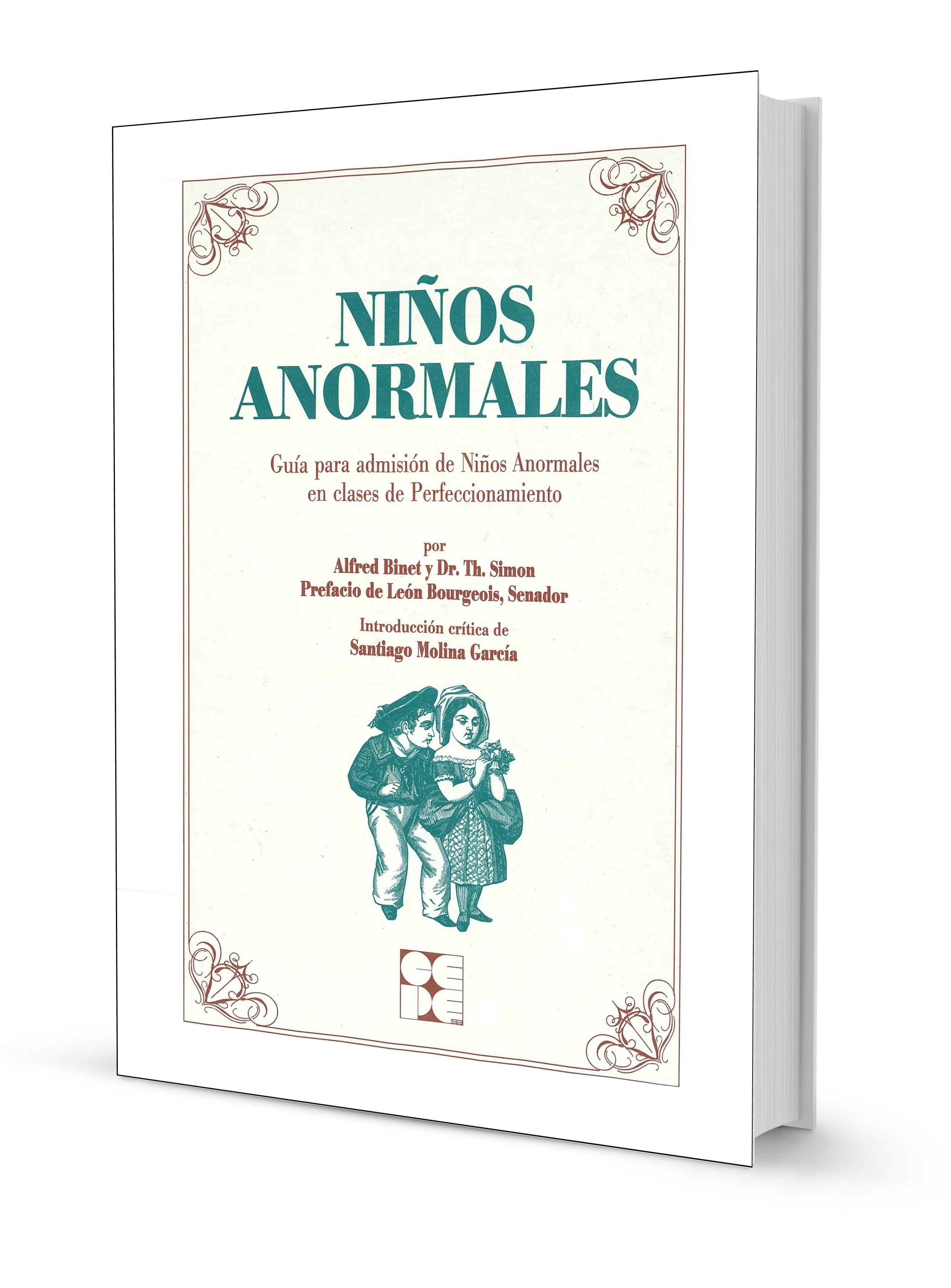 Niños Anormales | Editorial CEPE