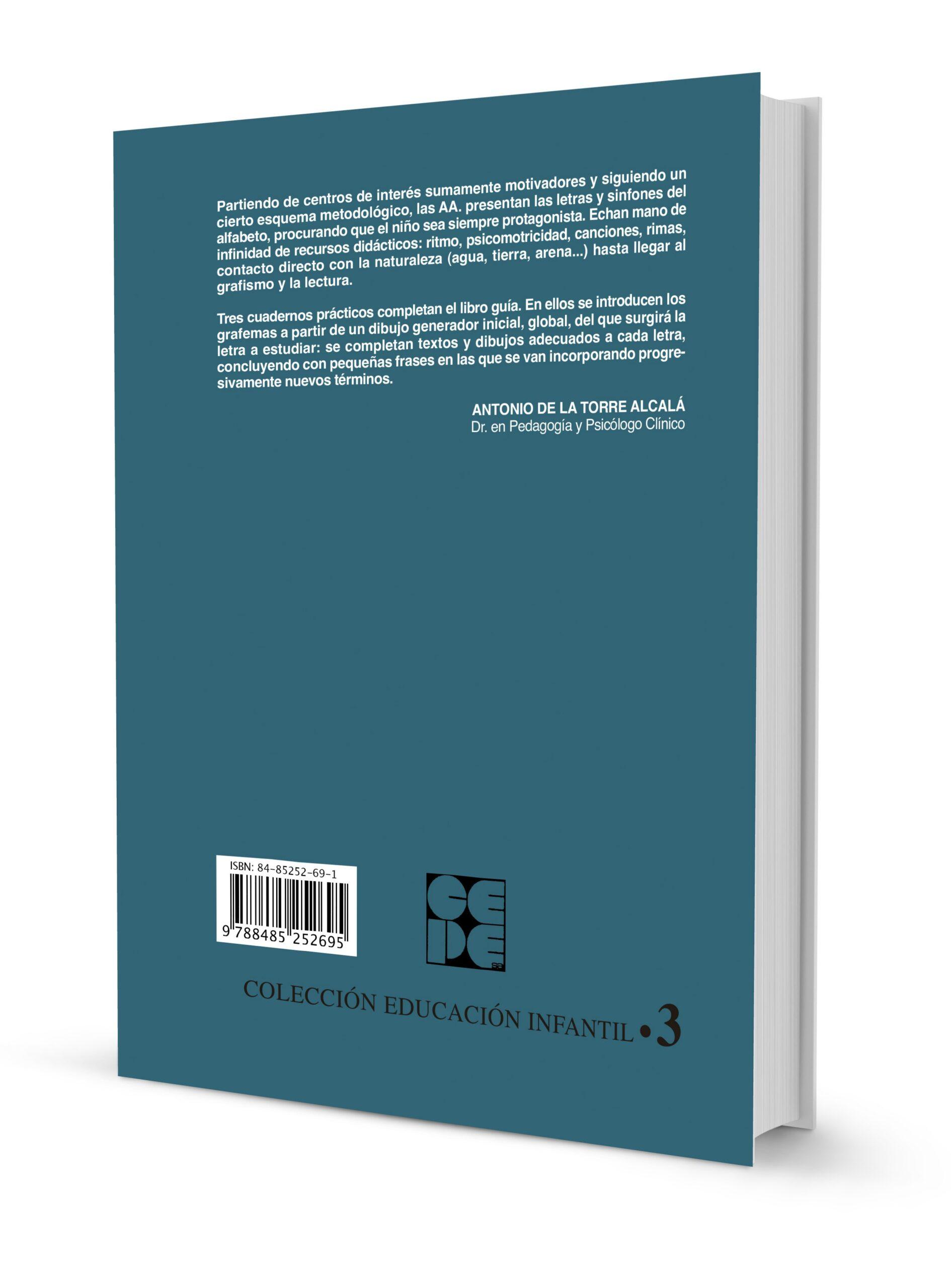 Manual Vivencias. Método sensorio-motor para el aprendizaje de la lectoescritura