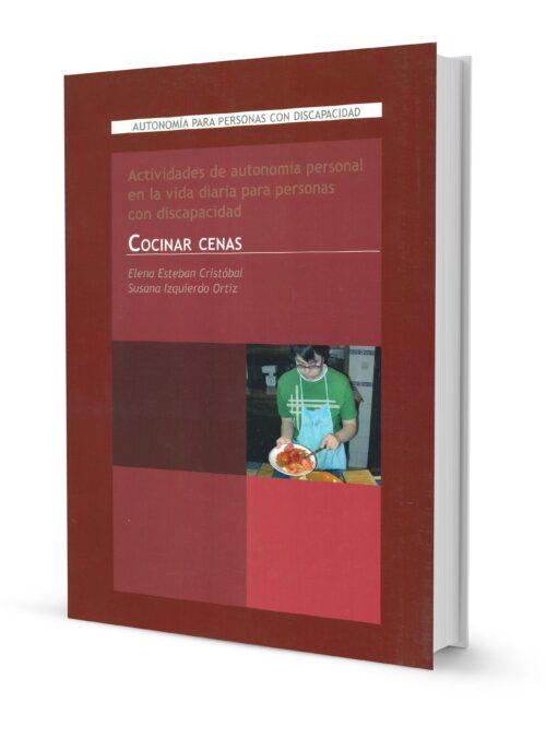 Actividades de autonomía personal en la vida diaria para personas con discapacidad. Cocinar cenas