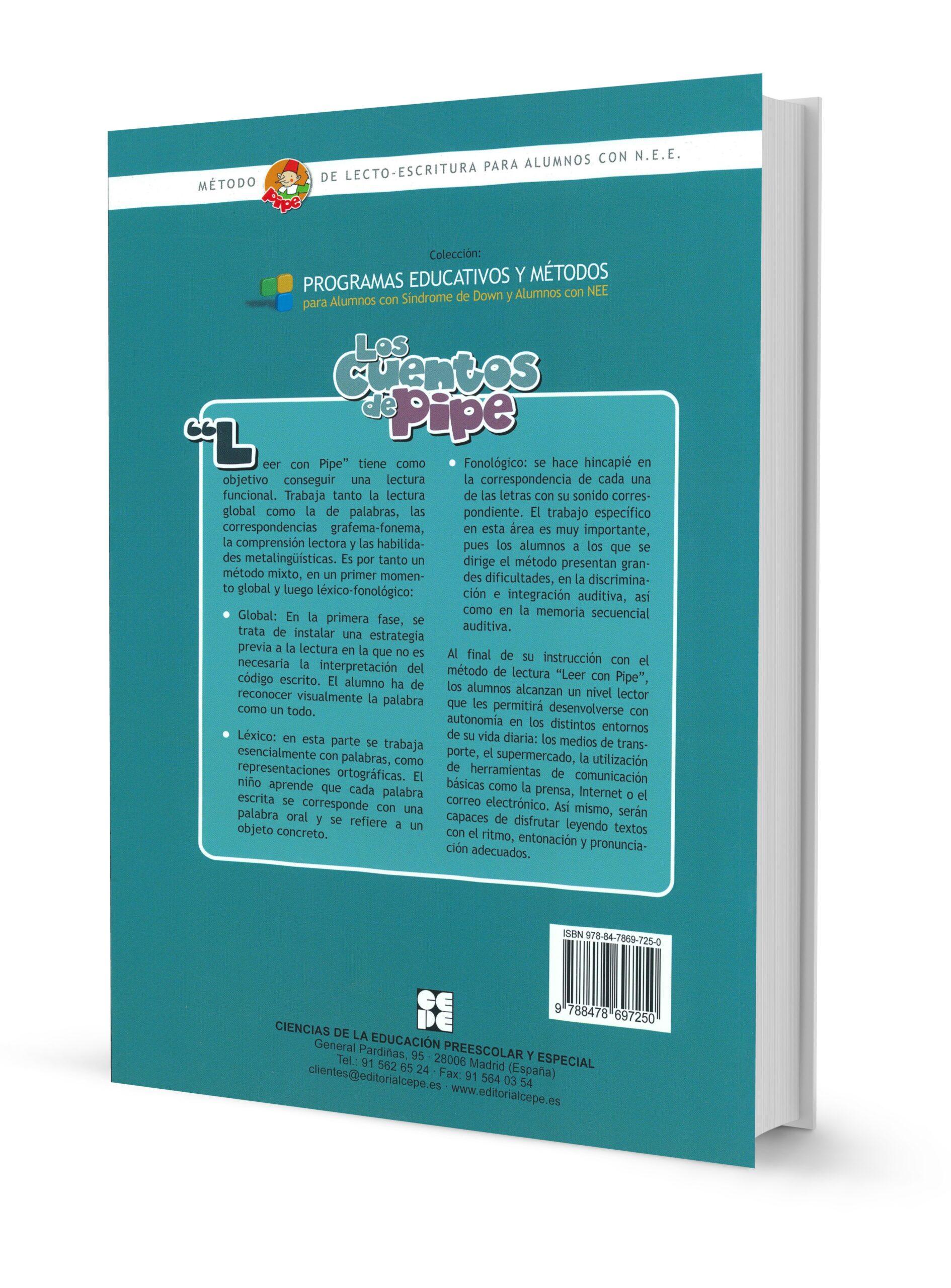 Método de lectura PIPE. Los Cuentos de PIPE