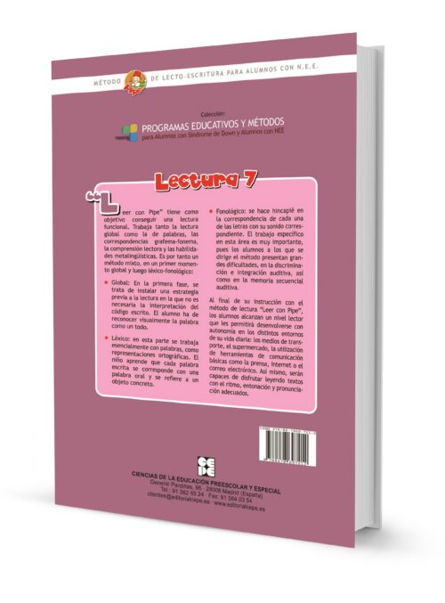 Método de lectura PIPE. Lectura 7