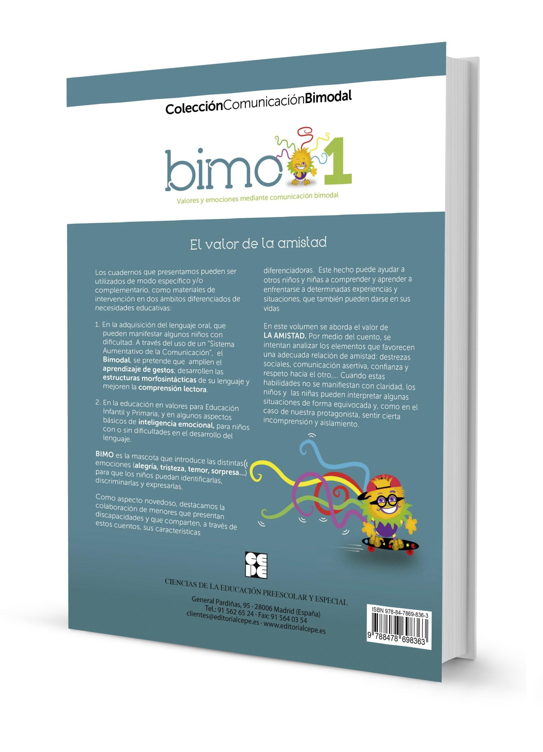 BIMO 1. (Discapacidad auditiva). Valor de la amistad