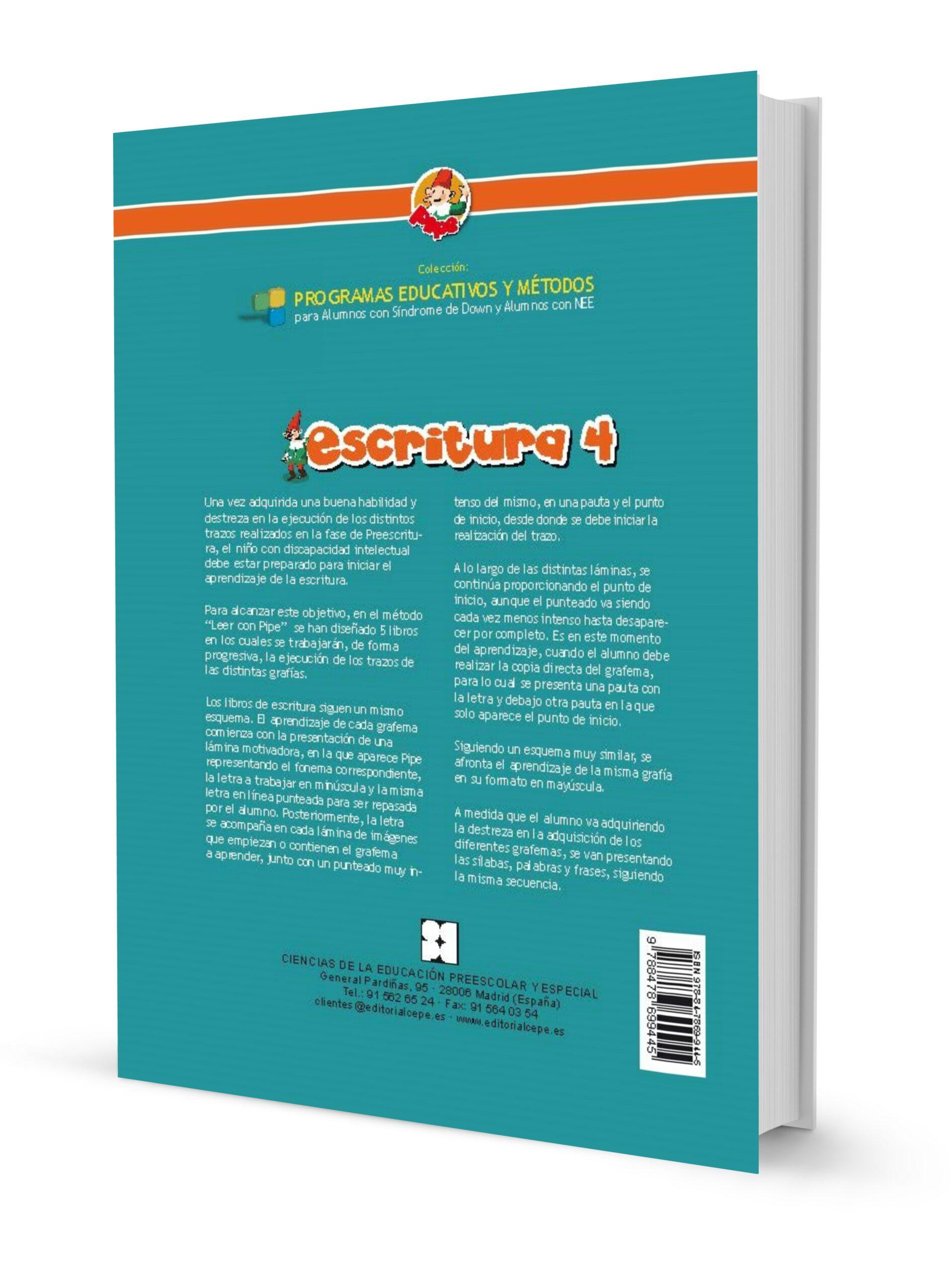 Método de escritura PIPE. Escritura 4