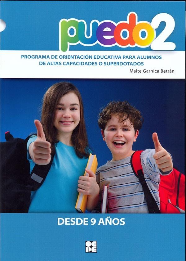 Puedo 2. Programa de orientación educativa para alumnos de altas capacidades o superdotados