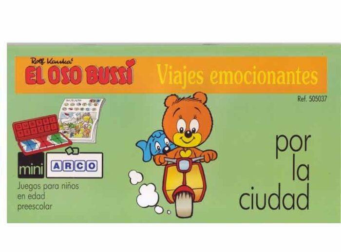 MINIARCO - El oso BUSSI por la ciudad