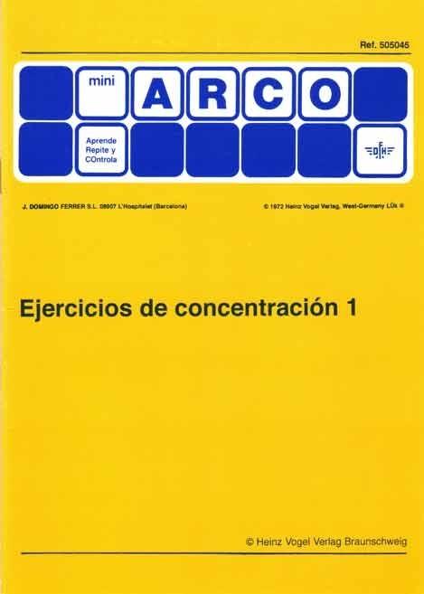 MINIARCO - Ejercicios de Concentración 1