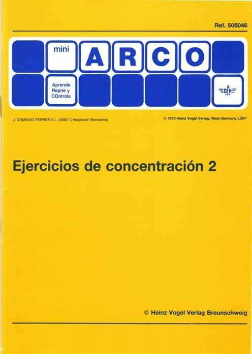 MINIARCO - Ejercicios de Concentración 2