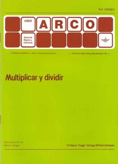 MINIARCO - Multiplicar y Dividir
