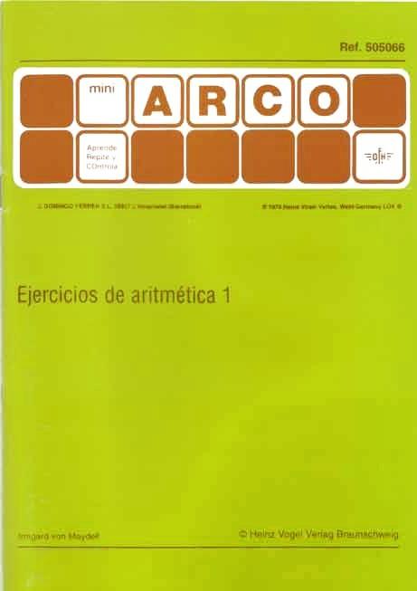 MINIARCO - Ejercicios de Aritmética
