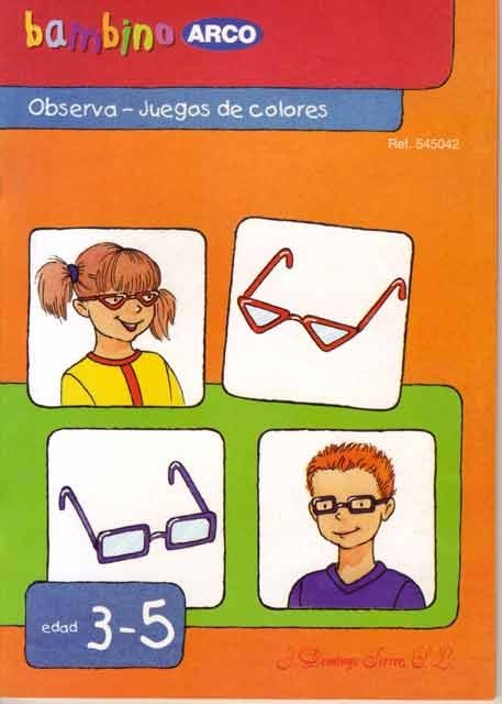 Bambino: Observa - Juegos de colores