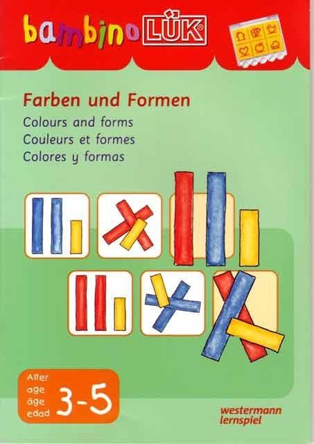 Bambino: Colores y formas