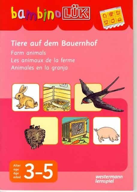 Bambino: Animales en la granja