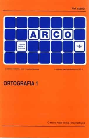 ARCO - Ortografía 1
