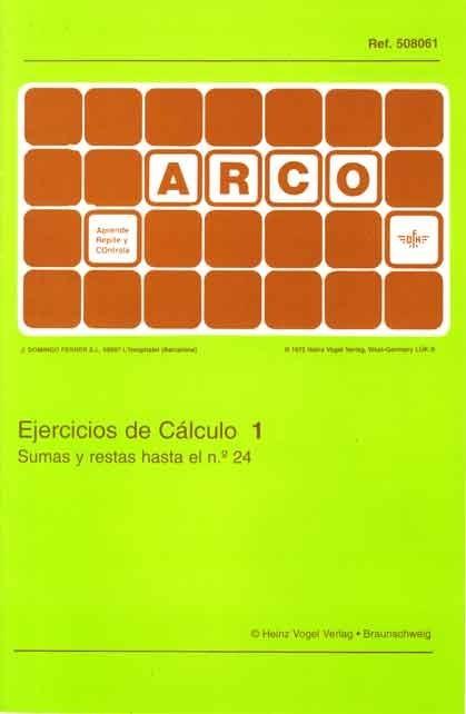 ARCO - Ejercicios de Cálculo 1