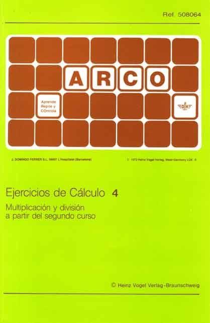 ARCO - Ejercicios de Cálculo 4