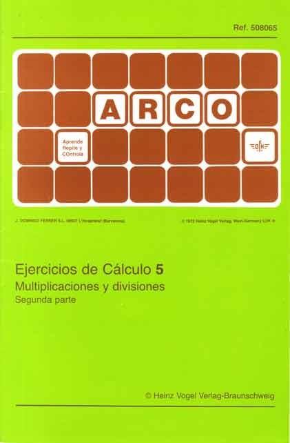 ARCO - Ejercicios de Cálculo 5