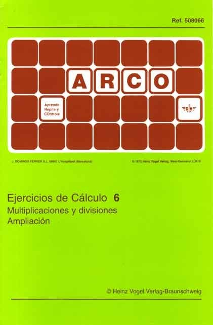 ARCO - Ejercicios de Cálculo 6