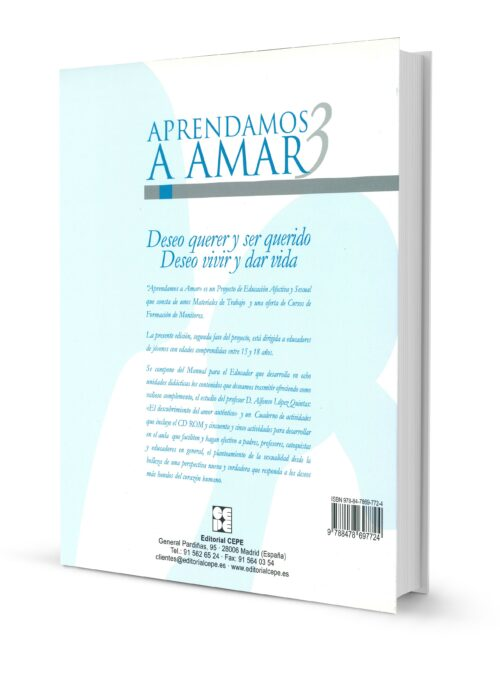 Aprendamos a Amar 15-18. MANUAL + CD